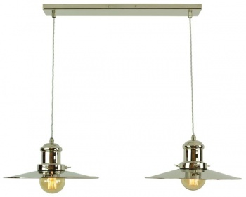 Edison Large Twin Pendant