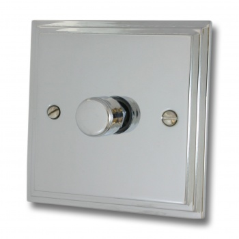 Edwardian Polished Chrome LED Dimmer
