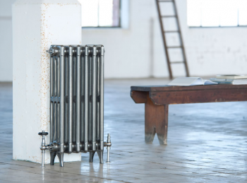 Victorian 4 Column Arroll Cast Iron Radiator - 760mm