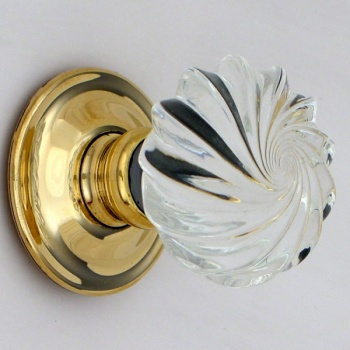 Viennese Glass Door Knobs