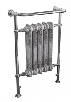 Wilsford Heated Towel Rail Chrome