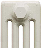 Cast Iron Radiator Finish - Parchment White