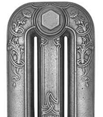 Cast Iron Radiator Finish - Satin Polish
