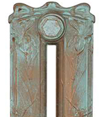 Cast Iron Radiator Finish - Vintage Copper