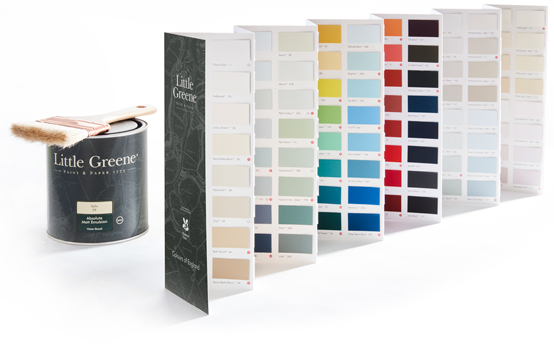 Little Greene Colour Chart